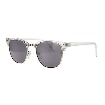 نظارات شمسية Unisex Cat.3 الدخان الشفاف / الأسود (AMU19207 G)