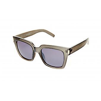 Gafas de sol Unisex gris/transparente/violeta