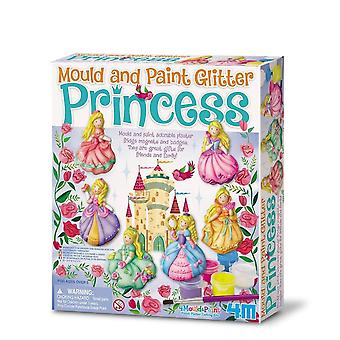 Great Gizmos Mould And Paint Glitter Princess