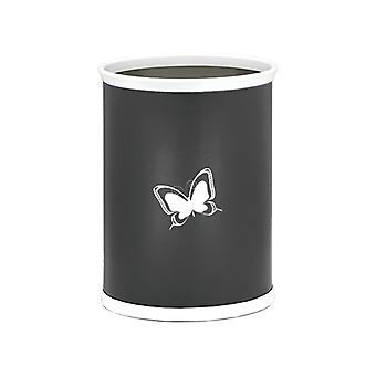 Kasualware 14 Inches Oval Wastebasket 13 Qt. Butterfly