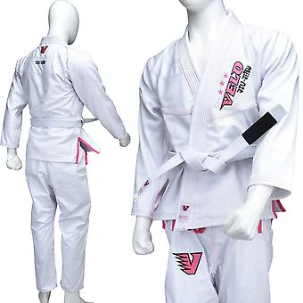 VELO Female BJJ GI Brazilian Jiu Jitsu Suits Uniform