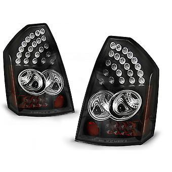 Feux arrière CHRYSLER 300C 05-08 BLACK LED