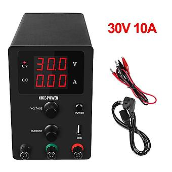 New Usb Dc Laboratory 60v 5a Regulated Lab Power Supply Adjustable 30v 10a