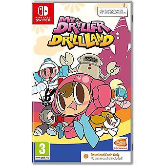 Mr. DRILLER DrillLand Nintendo Switch Game (Code dans une boîte)