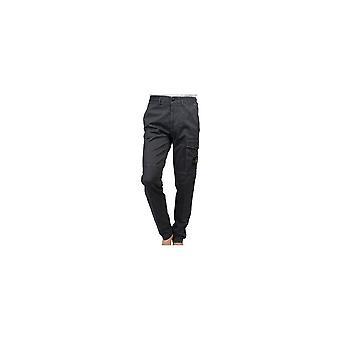 Stone Island Cotton Black Combat Trousers
