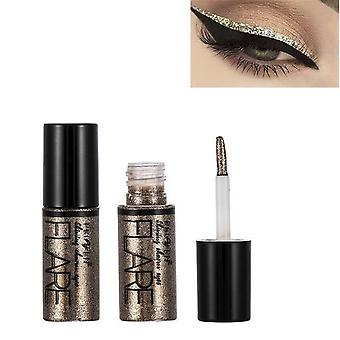 Metallic Shiny Eyeshadow Glitter - Liquid Eyeliner Makeup Waterproof