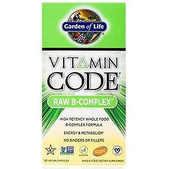 Garden of Life Vitamin code, Raw B-Complex 120 vcaps