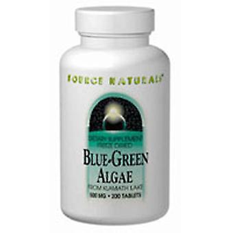 Quelle Naturals Blau-Grüne Algen, 500 MG, 100 Tabs