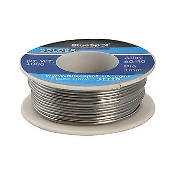 BlueSpot Tools Flux Covered Solder 100g 60/40 B/S31110