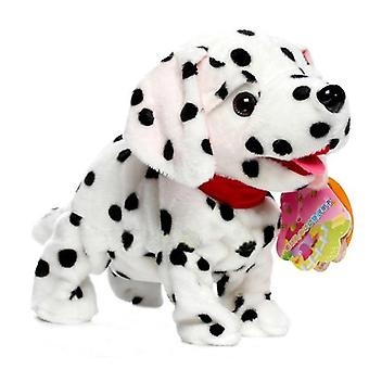Electronic Pets Sound Control Robot Dogs Bark Stand Walk Cute Interactive- Dog