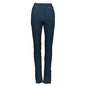Martha Stewart Mujeres's Jeans Knit Pull On Denim Azul A351438