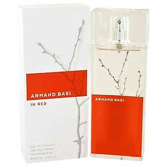 Armand Basi In Red By Armand Basi Eau De Toilette Spray 3.4 Oz (women) V728-427083