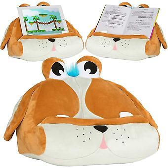 Cuddlyreaders kniha ipad držák tabletu novinka ereader rest pohovka polštář stojan dárek - štěně pete
