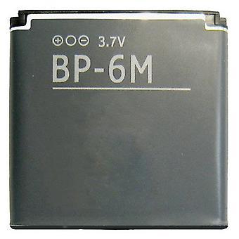 Neutral 1100mAh BP-6M Battery for Nokia N73, N93