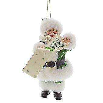Department 56 May The Road Rise Santa Claus Hanging Ornament