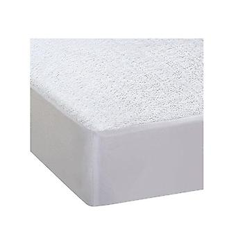Terry Cotton Fully Fitted Waterproof Mattress Protector King Single