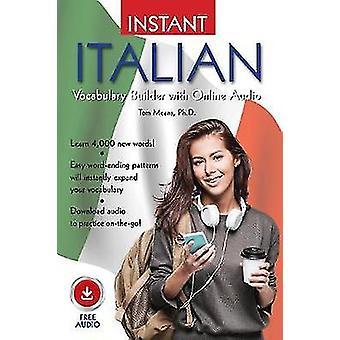 Instant Italian Vocabulary Builder with Online Audio