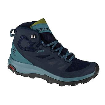 Salomon Outline Mid GTX W 404846 Womens trekking shoes