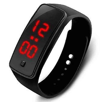 Femei Femei Digital Led Sport Ceas Casual Silicon Bratara ceas de mână