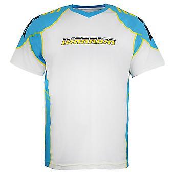 Warrior Lyhythihainen V-kaula-aukko Valkoinen T-paita Miesten Top WPTM305 WHT