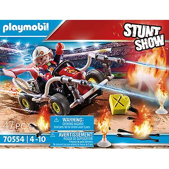 Playmobil Stunt Show Fire Quad