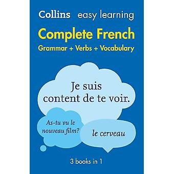 Easy Learning French Complete Grammar, Verbs and Vocabulary (3 books in 1): Trusted support for learning (Collins Easy Learning French) Paperback - 14 Jan. 2016