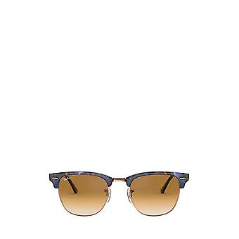Ray-Ban RB3016 täplikäs ruskea / sininen unisex aurinkolasit