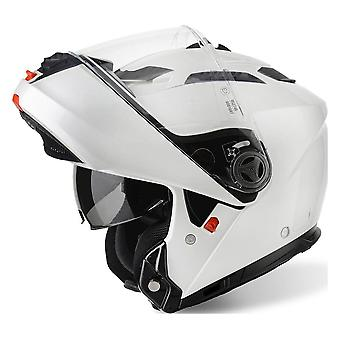 Airoh Casque Phantom S Flip - Couleur Blanc Gloss