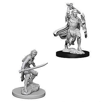 D&D Nolzur's Marvelous Unpainted Minis Female Elf Fighter (Pack of 6)