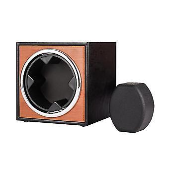 USB-Netzteil Schwarz Mechanische Uhr Wickelbox (schwarz)