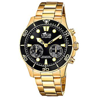 Lotus hybrid 18802/4 Watch for Analog Quartz Men with Stainless Steel Bracelet 18802/4