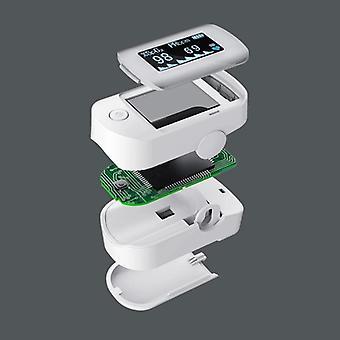 Smart Oximeter Oled Screen- Digital Fingertip Pulse Care High-speed Sensor