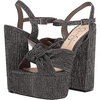 Jessica Simpson Femmes-apos;s Chaussures Alesta Suede Peep Toe Occasion Spéciale Ankle St...