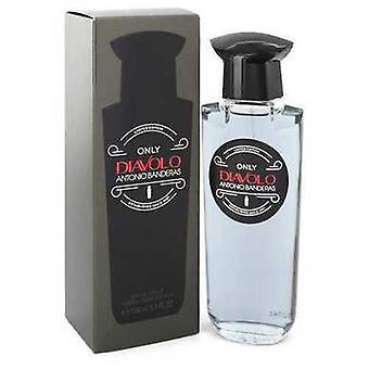 Diavolo Only By Antonio Banderas Eau De Toilette Spray 3.4 Oz (men) V728-550354