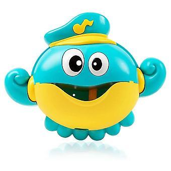 Baby Bath Bubble Machine Crabs Frog Music