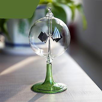 Sunshine Rotating Windmill Glass Furnishing Article Toy