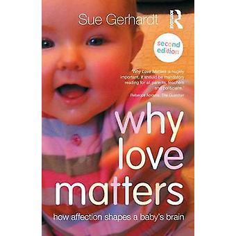 Miksi rakkaus on tärkeää - Kuinka kiintymys muokkaa Sue Gerhardtin vauvaa 'aivoja