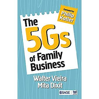 The 5Gs of Family Business by Walter Vieira - 9789352808656 Book