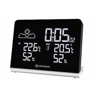 weather station Temeo TB14 cm black 3-piece