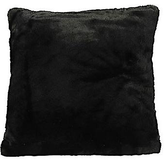 pillow Jozias 45 x 15 cm fleece black