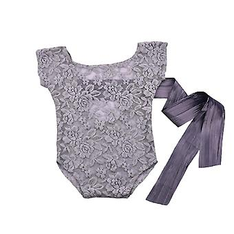 Baby Strampler Deep V Rückenlose Foto Requisiten