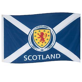 اسكتلندا العلم كريست 5x3ft Saltire سانت أندرو الرسمية لكرة القدم هدية
