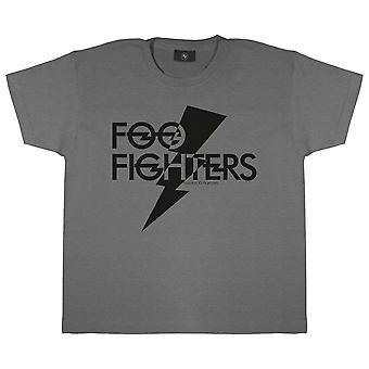 Foo Fighters Boys Lightning Bolt Logo T-Shirt