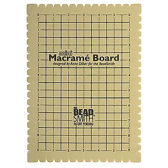 و Beadsmith ميني Macrame المجلس لضفائر 9x6 بوصة