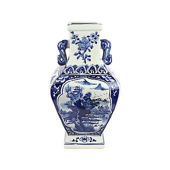 中国オークション風景青磁器の花瓶