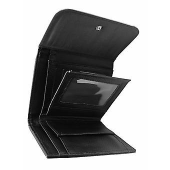 Darkside - ZOMBIE OUTBREAK GREENGLO Mens Faux Black Leather Bi-fold Wallet