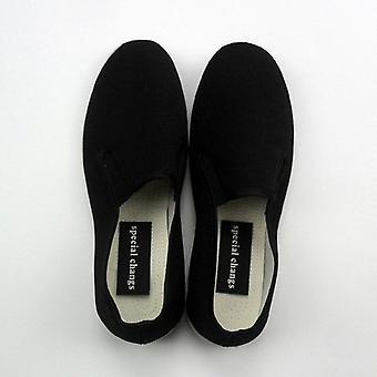 Top Qualität schwarz Baumwolle Kung Fu Schuhe