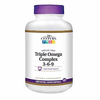 21st Århundre Trippel Omega Complex 3-6-9, 180 Myke geleer