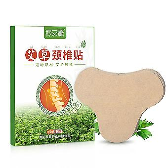 12pcs Neck Heat Patch Muscle Joint Pain Relief Patch Arthritic Inflammation Muscles Ache Shoulder Wormwood Anti Pain Sticker