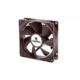 Boks Ventilator CoolBox COO-VAU080-3 Ø 8 cm